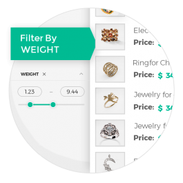 """CS-Cart """"Filter By Weight"""" Add-on"""
