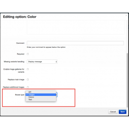 "CS-Cart ""Handy Product Options"" Add-on"