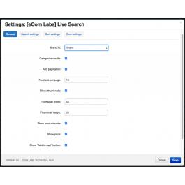 "CS-Cart ""Live Search Pro"" Add-on"