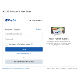 """CS-Cart """"PayPal Button"""" Add-on"""