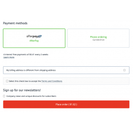 AfterPay payment gateway for CS-Cart