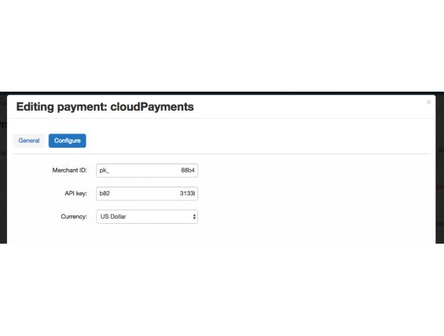 CloudPayments payment gateway for CS-Cart