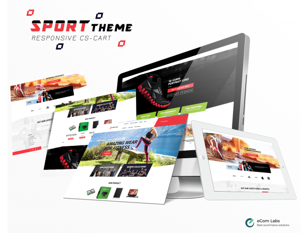 "CS-Cart ""Sport"" Theme"