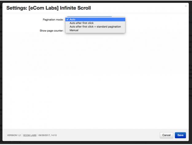 "CS-Cart ""Infinite Scroll"" Add-on"
