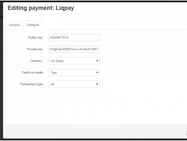 LiqPay payment gateway for CS-Cart