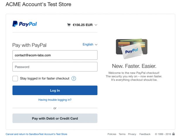 "CS-Cart ""PayPal Button"" Add-on"