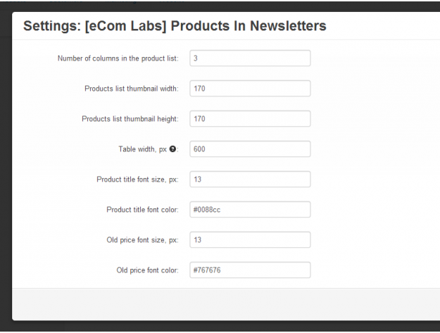 """CS-Cart """"Products In Newsletters"""" Add-on"""
