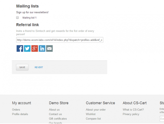 "CS-Cart ""Referral Marketing"" Add-on"