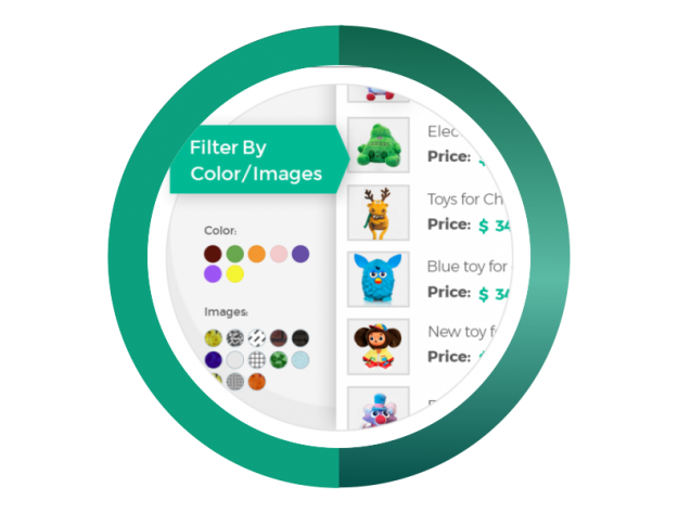 """CS-Cart """"Filters By Color/Images"""" Add-on"""