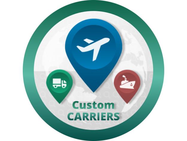 """CS-Cart """"Custom Carriers"""" Add-on"""