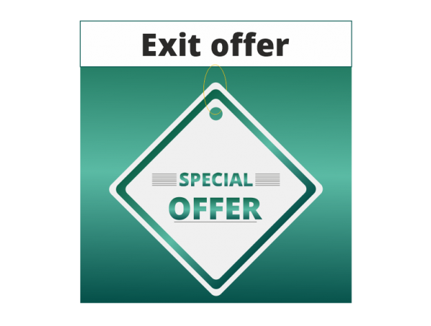 """CS-Cart """"Exit Offers"""" Add-on"""